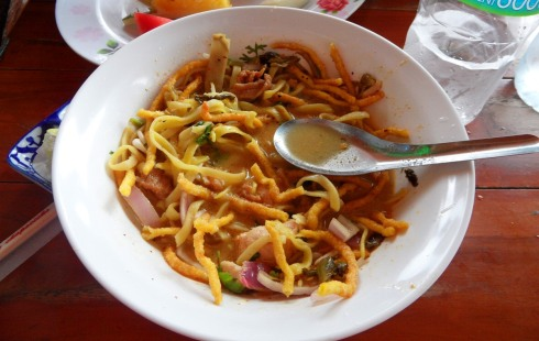 color photo of Thai soup