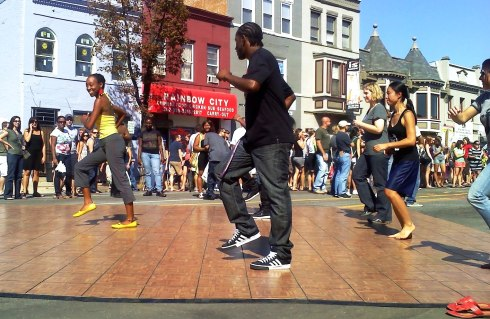 Dancers break it down during H Street Festival