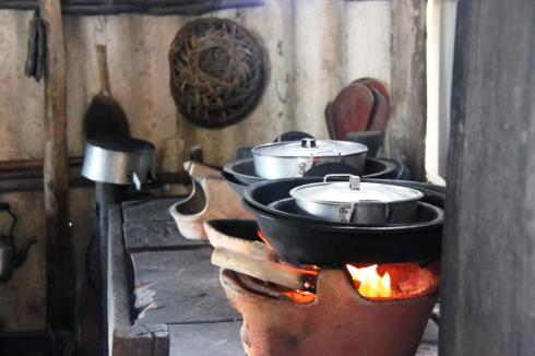 Traditional cooking stoves in Vietnam