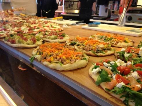 Roman pizzas