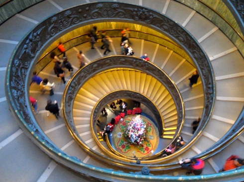 Vatican Spiral Staircase